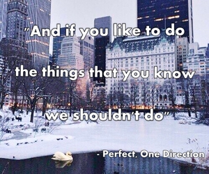 song, perfect, and one direction image