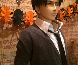 Halloween, levi, and snk image