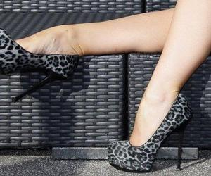 animal print, shoes, and pretty image