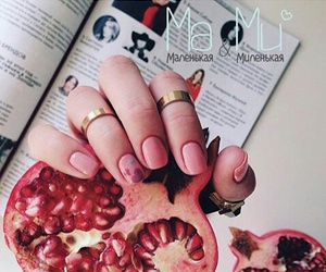 pink, ma&mi, and gelish image