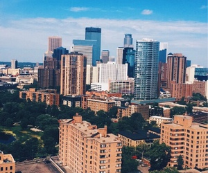 city, background, and minneapolis image