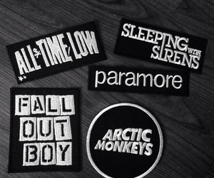 all time low, arctic monkeys, and fall out boy image