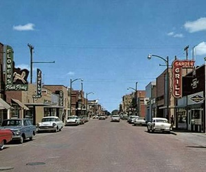 1960's, small town, and vintage image