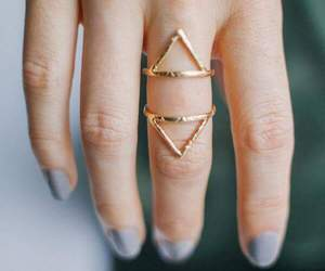 ring, rings, and gold image