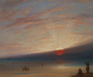 art, painting, and romanticism image