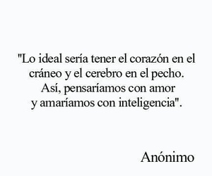 love, frases, and corazon image