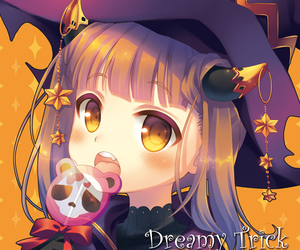 anime, lolipop, and Halloween image