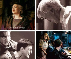 harry potter, draco malfoy, and molly weasley image