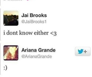 ariana grande, luke brooks, and jai brooks image