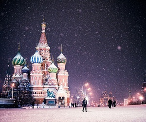 cold, russia, and st petersburg image