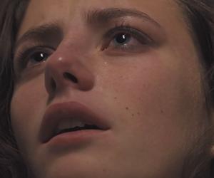 girl, sad, and skins image