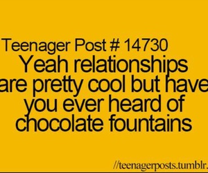 chocolate, Relationship, and funny image
