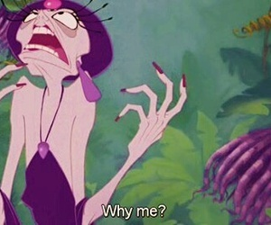 funny, why me, and yzma image