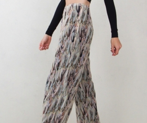 fall colors, wide leg, and loose pants image