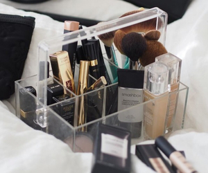 makeup, Brushes, and inspiration image