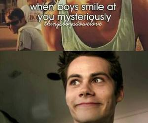 smile, teen wolf, and boy image