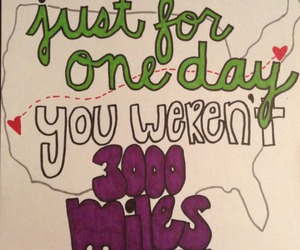 Lyrics, emblem3, and just for one day image