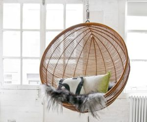hanging chair and home image