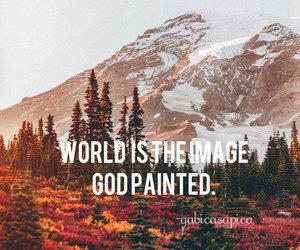 autumn and god image
