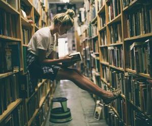 book, girl, and ulzzang girl image