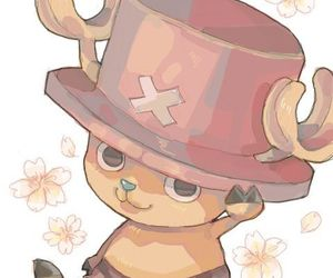 one piece, chopper, and cute image