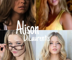 alison, aria, and pretty little liars image