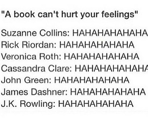books, feelings, and suzanne collins image