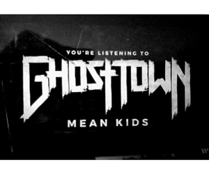 band, ghost town, and creepy girls image