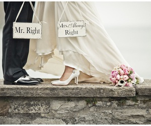 wedding, beautiful, and mr. right image