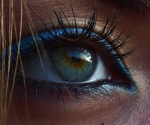 blue, eyelashes, and real eyes image