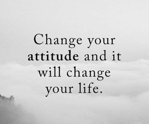 attitude, change, and positive image