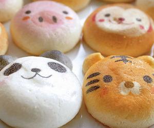 cute, food, and panda image