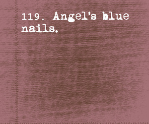 angel, nails, and rent image