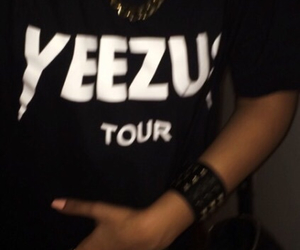yeezus, adidas, and dark image