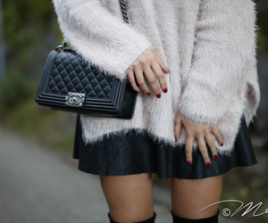 chanel, cold, and fall image