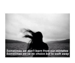 girl, Lyrics, and walk away image