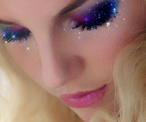 britney, spears, and eyeshadows image