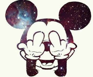 smile, universe, and micki mouse image