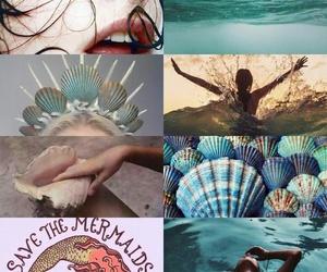 aesthetic and mermaid image