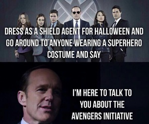 Marvel, Halloween, and Avengers image