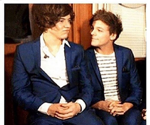 louis tomlinson, harry and louis, and Harry Styles image