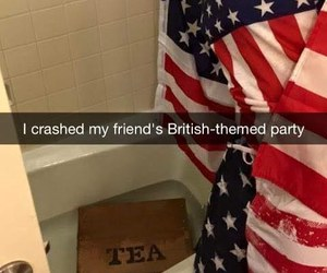 funny, british, and party image