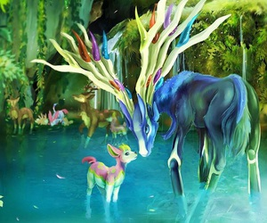 pokemon and xerneas image