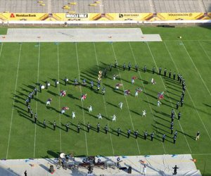 marching band and love image
