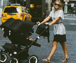 stroller and twins image