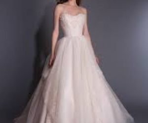 bridal, wedding dress, and Couture image