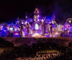 Tomorrowland and dj image
