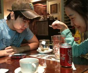 coke, donghae, and super junior image