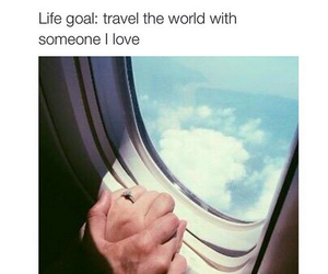love, travel, and goals image