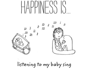 baby, happiness, and illustration image